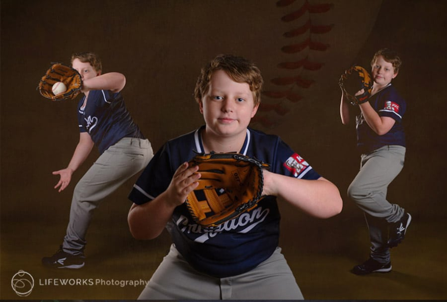 Baseball Character Portrait