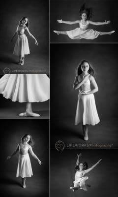creative portrait dance
