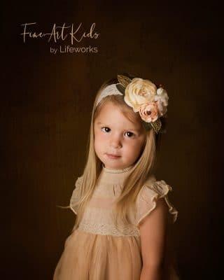 Fine Art Kids portrait