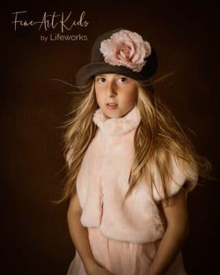 Couture child Portrait