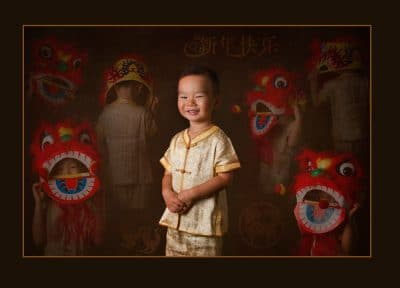 Character Portrait Chinese Boy