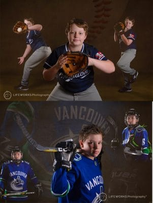 sporting children photography