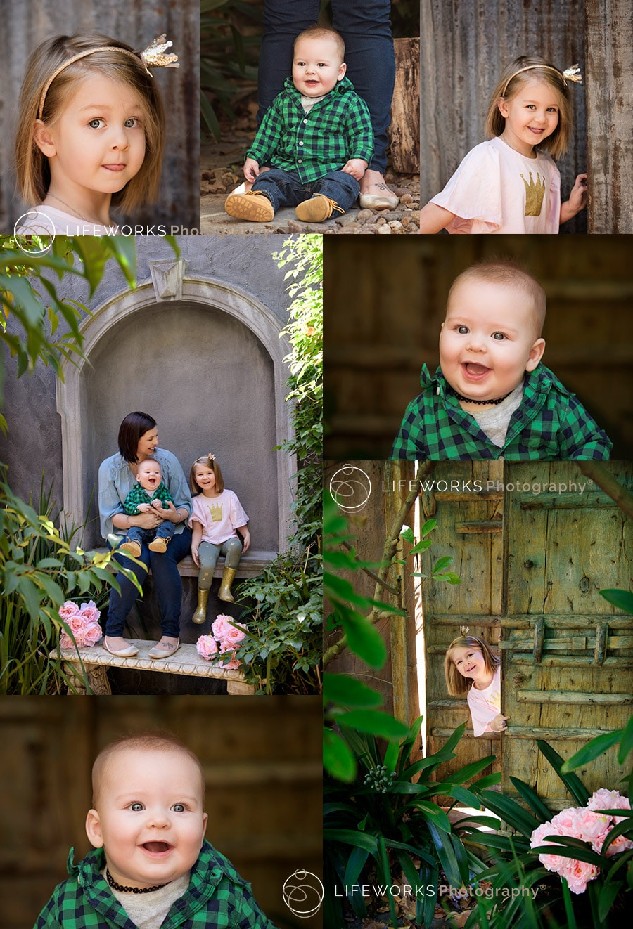 children's photography - outdoor photo shoot