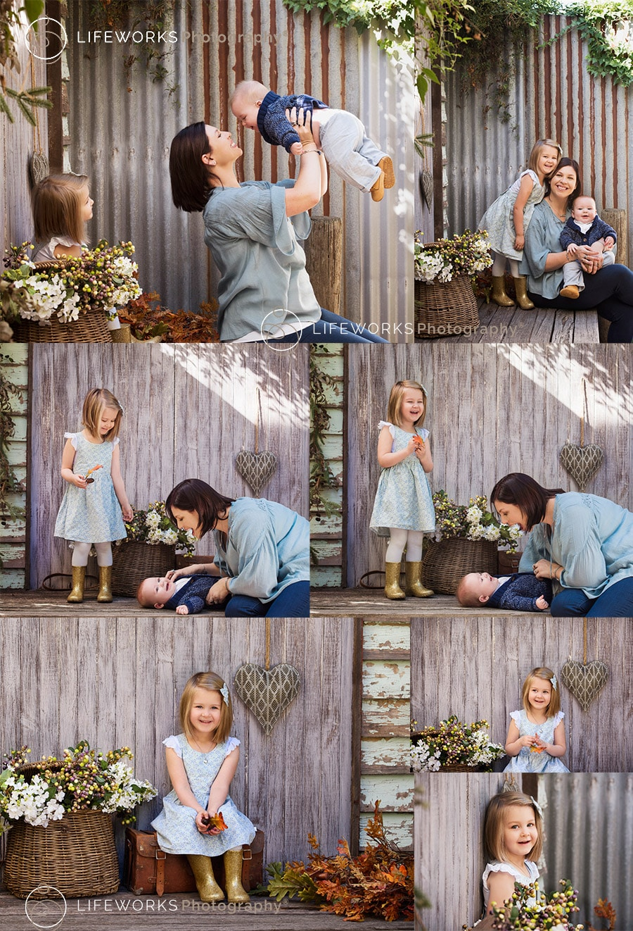 Children's Photography - outdoor photo session
