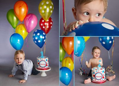 Professional baby photography of 1 year old