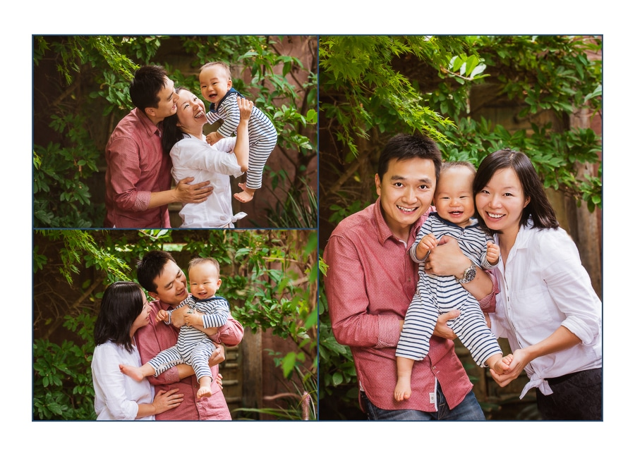 asian family photography session