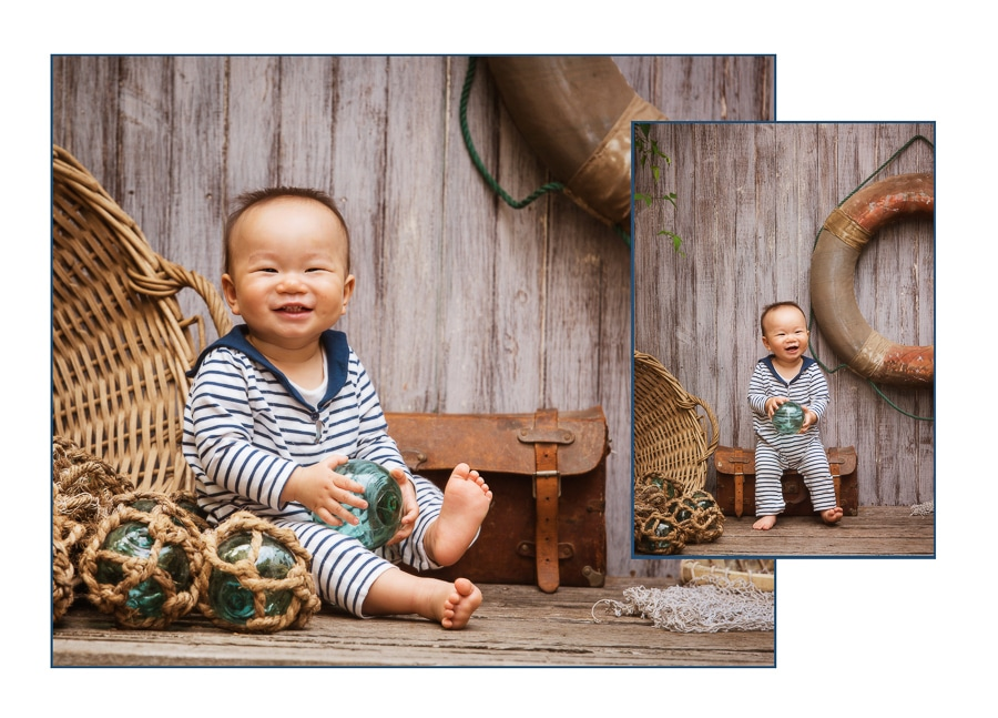 Sitter Session! Asian baby boy by Lifeworks Photography