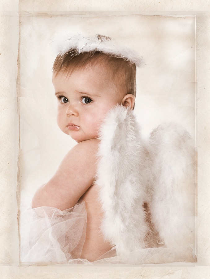 Professional baby photography of a 9 month year old