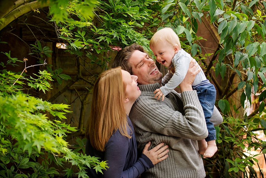family portraits in the Lifeworks outdoor Studio