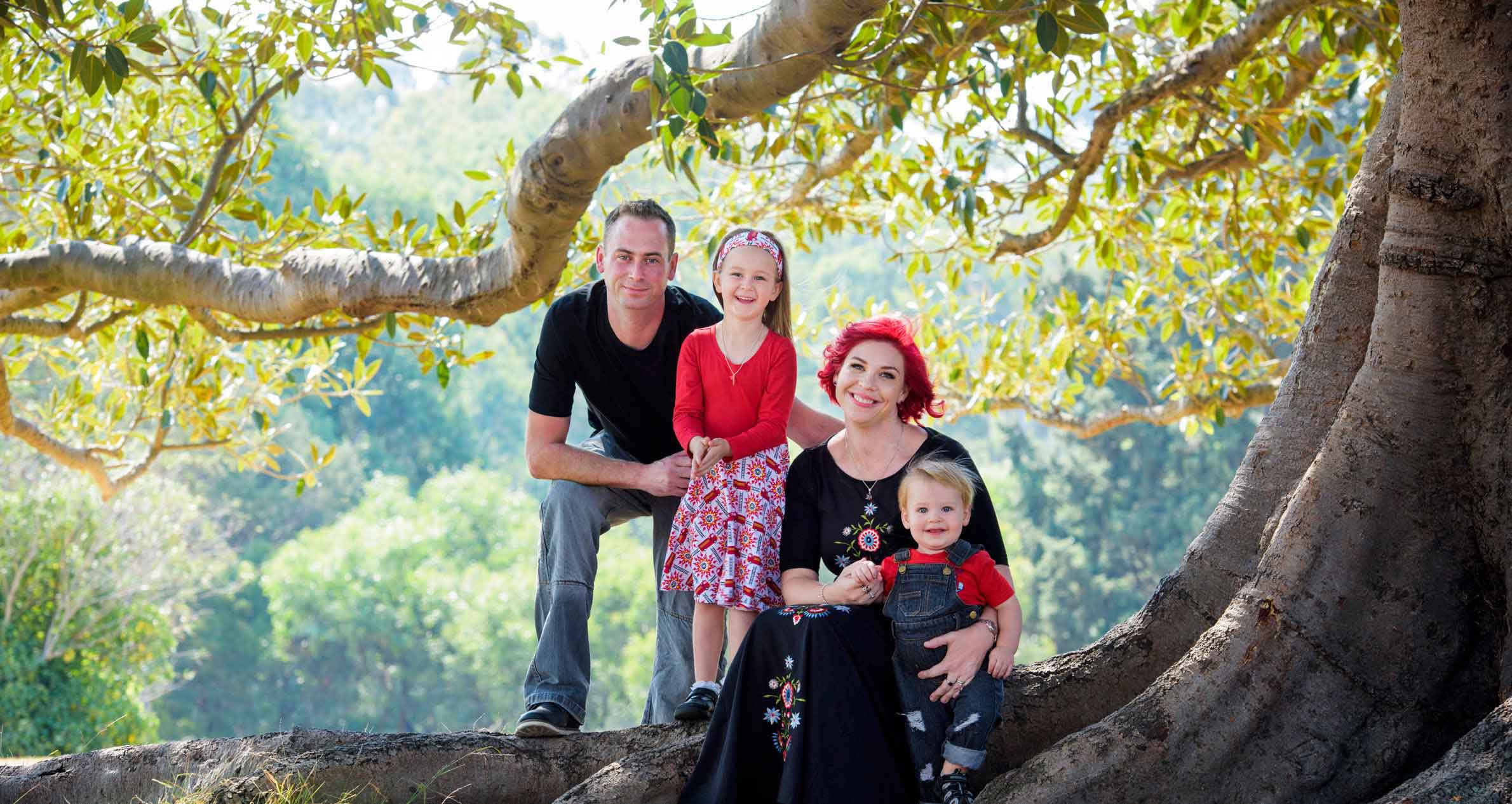 families have fun being photographed outdoors and in the studio with Lifeworks photography in Northcote Melbourne